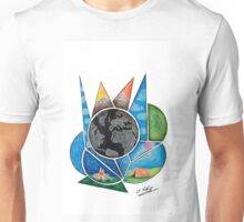 Traveling Makes World More Colourful  Unisex T-Shirt