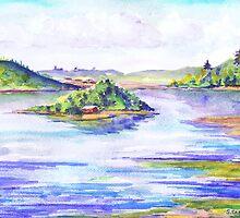 Stoco Lake Tweed Ontario by Saga Sabin