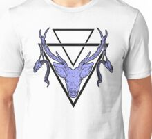 Triangle Deer H 2 Unisex T-Shirt