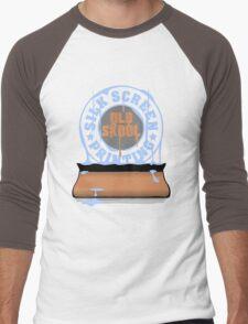 Silk Screen Printing - Old Skool Men's Baseball ¾ T-Shirt