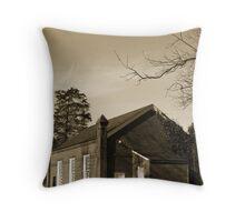 Grubb Hill Church Throw Pillow
