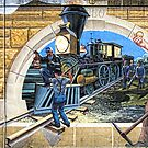 The Coming of the Railroad ~ 1880 by barnsis