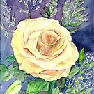 Yellow Rose by mleboeuf