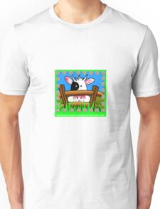 The grass is always greener... Unisex T-Shirt