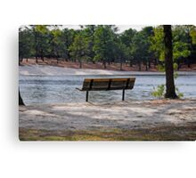 Come and Sit for a While Canvas Print
