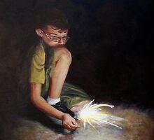 Sparkler by JaneAlbin