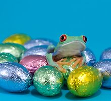 Easter frog by Angi Wallace
