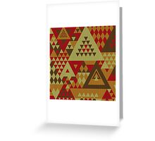 Triangulon - Rustic Greeting Card
