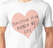 Sebastian Stan ruined my life Unisex T-Shirt