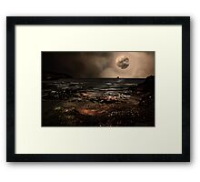 S is for.....Supermoon Framed Print