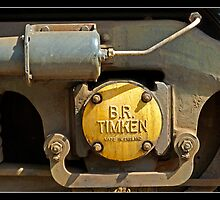 Close up of loco engine by Gordon Holmes