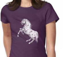 GALLIMAUFRY ~ My Horses by tasmanianartist Womens Fitted T-Shirt
