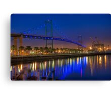 The Vincent Thomas Bridge Canvas Print