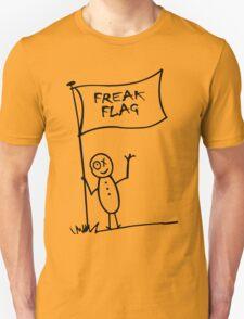 Freak flag geek funny nerd Unisex T-Shirt