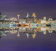 Mirror on the Mersey by Paul Madden