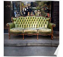 vintage sofa Poster
