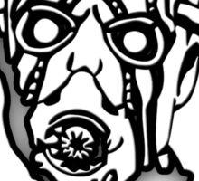 Borderlands - Psycho Black and White Design Sticker