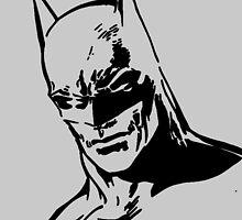 DC Batman - Minimal Figure by emapremo