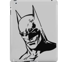 DC Batman - Minimal Figure iPad Case/Skin