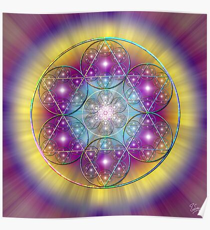 Sacred Geometry 40 Poster