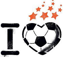 I love football (soccer) by MrMaster