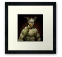 Turtle Man Framed Print