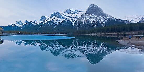 Mount Lawrence Grassi & Ha Ling Peak by Yukondick