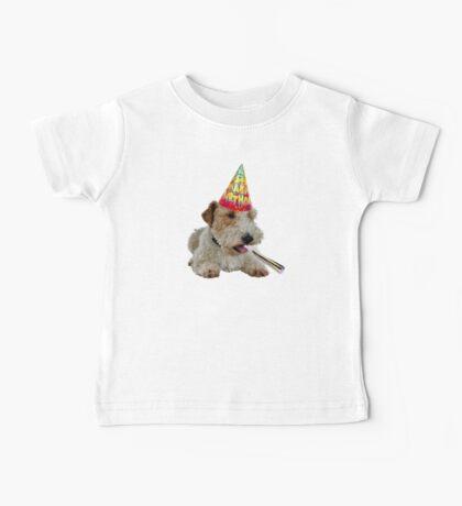 Wire Fox Terrier Birthday Baby Tee