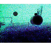 Orb Reporting photograph  No Flash Photographic Print