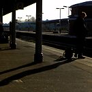 Waiting for the train by SWEEPER