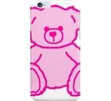 Pink Teddy Bear iPhone Case/Skin