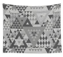 Triangulon - Grey Wall Tapestry