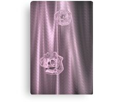 Pink Sheer Metal Print