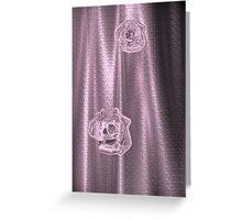 Pink Sheer Greeting Card