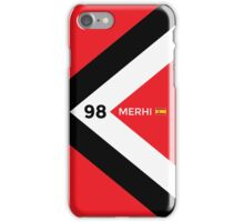 F1 2015 - #98 Merhi iPhone Case/Skin