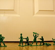 Toy Story Recreation - Soldiers in Toy Mode by AlexNoir