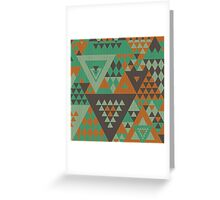 Triangulon - Mint Choc Orange Greeting Card