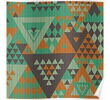 Triangulon - Mint Choc Orange Poster