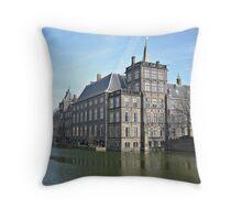 Het Binnenhof, Den Haag Throw Pillow