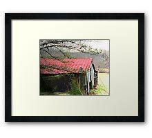 Lemaster Barn Framed Print
