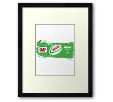 Wales Rugby World Cup Supporters Framed Print