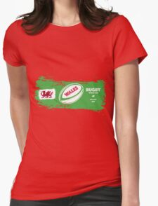 Wales Rugby World Cup Supporters Womens Fitted T-Shirt