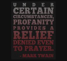 Mark Twain on Profanity by merrypranxter