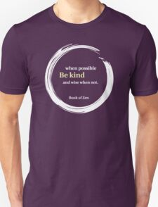Inspirational Kindness Quote Unisex T-Shirt