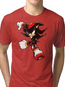 Shadow shirt (from Sonic) Tri-blend T-Shirt