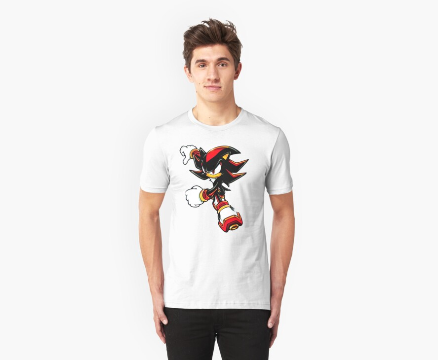 Shadow shirt (from Sonic) by Raudius