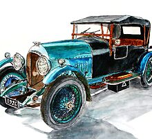 1926 Bentley Six Speed Tourer by Ob-Art