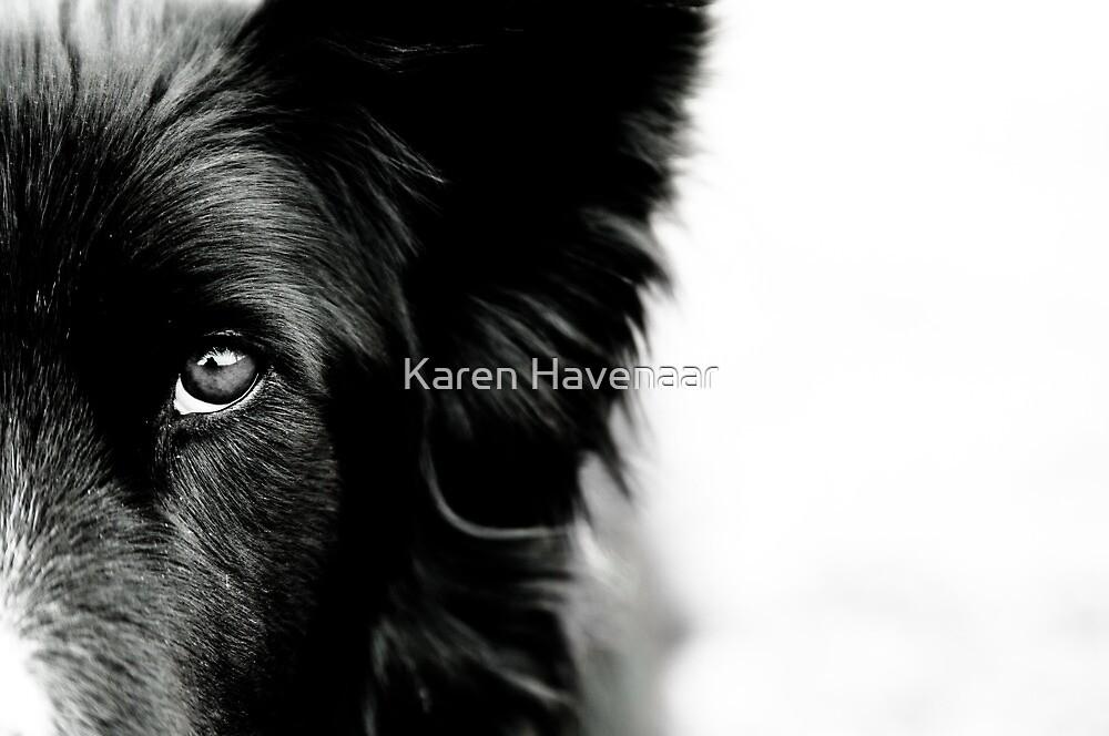 One eye by Karen Havenaar