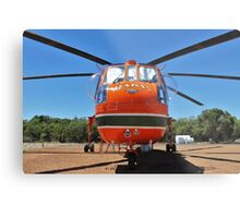 N243AC Erikson Sky Crane Metal Print