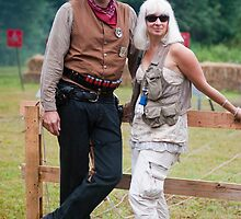 Cowboy & his woman by rmc314